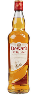 Dewar's Scotch White Label 750ml